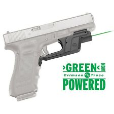 Crimson Trace Green Laserguard Laser Sight for Glock Full-Size/Compact - LG-452