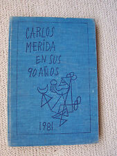 CARLOS MERIDA. Complete Graphic Works. Mexican Art Book