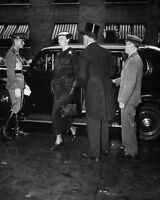 Eleanor Roosevelt arrives at funeral of Secretary of War George Dern Photo Print