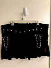Tripp NYC Studded Chains Mini Skirt XXL