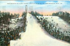 Iron Mountain, MI Pine Mountain Ski Slide, Highest U. S. Artifical Slide  1941