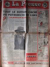 La Presse Magazine n°420 (24/30 nov 1953) Dominici - J Marais - G Lollobrigida