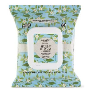 Equate Micellar Makeup Remover Wipes, 30 Count.