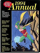 Comics Buyer's Guide: 1994 Annual - Standard Reference For Today's Collector!
