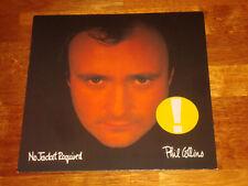 PHIL COLLINS No Jacket Required ORIG 1st German 1985 WEA LP 251699-1 MINT