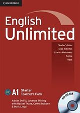 English Unlimited Starter Teacher's Pack (Teacher's Book with DVD-ROM), Stirling