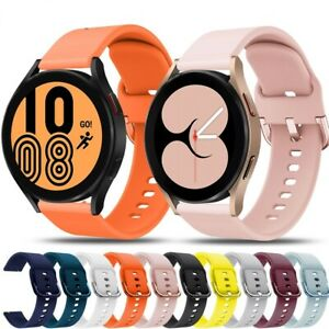 For Samsung Galaxy Watch 4 / Classic Silicone Fitness Wrist Band Strap