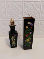 Vintage Avon Butterfly Garden Bud Floral Vase Cologne Decanter Cologne 6 oz