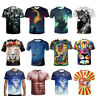 3D Printed T-Shirt Men Women UGLY Crew Graphics Casual Short Sleeves Tee Tops