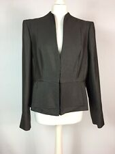Next Tailoring Dogtooth Fitted Blazer Riding Style Jacket Houndstooth UK 18 BNWT