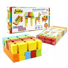 40 Pieces Set Building Blocks Learning Toys Creativity Kids Toddlers Thinking