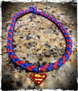Superman Paracord Necklace.