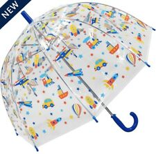 Kids transport clear dome umbrella by Susino