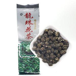 2021 Jasmine Flower Tea Natural Jasmine Pearls Fresh Dragon Pearl Green Tea