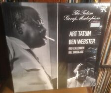ART TATUM*BEN WEBSTER The Tatum Group Masterpieces 1977 UK PABLO MONO VINYL LP