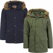 Laundry Hooded Long Coats & Jackets for Men