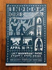 2018 Indigo Girls Poster