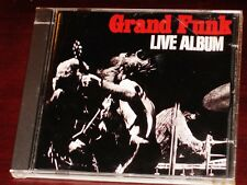 Grand Funk: Live Album CD 1970 EMI / Capitol Records Holland 7 91899 2 Original