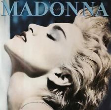 Madonna-True Blue (LP) (en muy buena condición -/G + +)