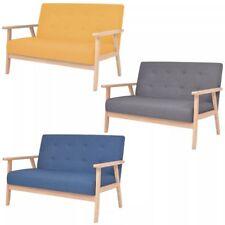 vidaXL 2-Sitzer Sofa Stoff Polstersofa Loungesofa Couch mehrere Auswahl