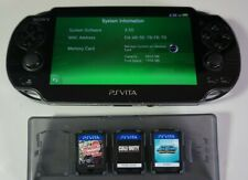 Sony PSVita Game System w 12 Games Lot PCH-1001 Tested Working