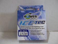 POWER PRO ICE TEC 5 lb test   Ice Blue color 50 yards NIP