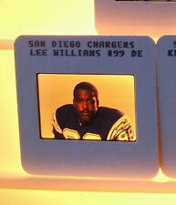 Lee Williams 1987 Chargers Football 35mm Slide Photo Transparency Negative NFL