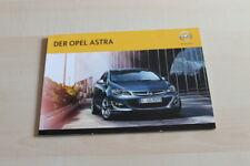 131901) Opel Astra Prospekt 06/2013
