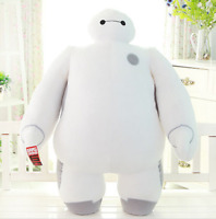 White Big Hero 6 Baymax Robot Plush Soft Stuffed Toy Doll Kid Birthday Gift Cute