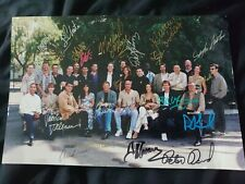 More details for babylon 5 cast and crew autographed photo rare!