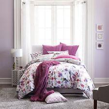 JCPenney Home Arboretum 4-Piece Watercolor Floral Comforter Set, Queen