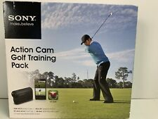 Sony Hdr-As15 Action Camera Golf Training Pack Nip Sr-8A4 Micro Sd Aka-Sf1 Frame