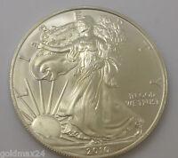USA 1 Dollar - American Eagle Silbermünze 2010 1oz. 1 Unze 999/1000 Fine Silver