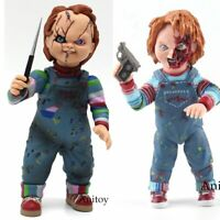 Child's Play Bride of Chucky Good Guy Horror Doll PVC Action Figure Toy 12cm