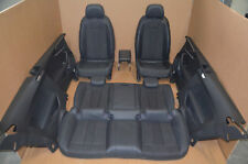 AUDI a5 f5 COUPE dotazione di Pelle Pelle Nera Massaggio Massaggio 8w LEATHER SEAT