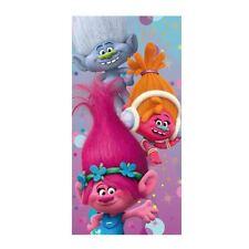 Children Trolls Poppy Themed 70 x 140cm Cotton Beach Towel