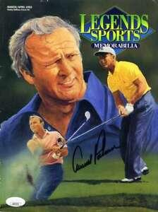 Arnold Palmer JSA Coa Hand Signed Legends Magazine Autograph