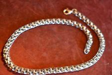 Königskette 925 Silber 45,5 cm 7 mm 4 Kant 56,7 gr.