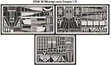 EDUARD 1/32 GRUMMAN TBF/GRUMMAN TBM AVENGER extérieur pour Trumpeter #32138