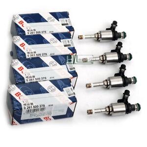 4x OE Fuel Injectors Nozzles Bosch for VW GTI Passat CC Audi A4 A5 A6 TT 2.0TFSI
