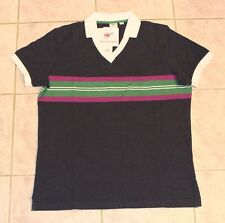 Uniqlo x Michael Bastian Limited Edition Mens Pique Polo Shirt by MB Navy NEW L