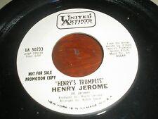 HENRY JEROME-HENRY'S TRUMPETS/TIPICA SERENADA USA UA PROMO UA 50233 NEAR MINT