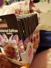 BADIA - Pure selected Spanish Saffron Net Wt. (.4g) - Azafran - (30 packs) 12/20
