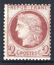 """FRANCE STAMP TIMBRE 51 """" CERES 2c ROUGE-BRUN 1872 """" NEUF xx A VOIR   P225"""