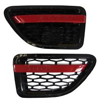 Black Range Rover sport 2005 AUTOBIOGRAPHY 2010 style wing side vents air grille