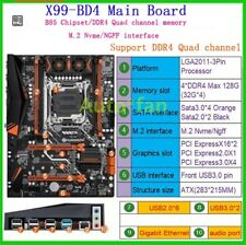 Genuine New X99-BD4 DDR4 128G LGA2011-3P Main Board For Large-scale Online Games