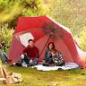 Portable Sun Shade & Weather Shelter Umbrella Beach Pool Picnic Outdoor BIN