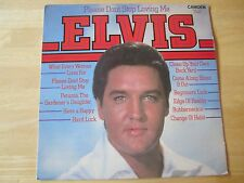 Elvis Presley LP,  Please Don't Stop Loving Me, RCA #CDS 1175, U.K. Release
