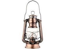 """Lampe-tempête rétro à pétrole 24 cm """"Anika"""" - aspect Bronze - Lunartec"""