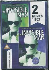 The Invisible Man 1 & 2 DVD